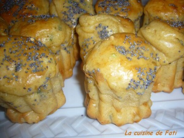 Cannelés fromage et fines herbes