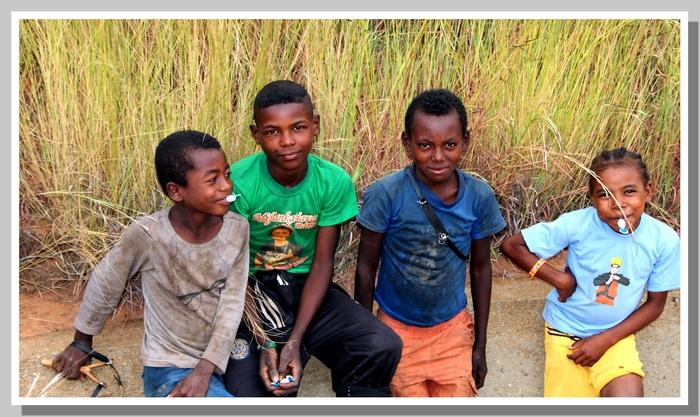 Les enfants Malgaches