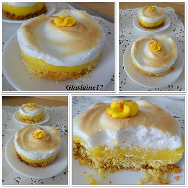 Sablé breton et son Lemon Curd meringué