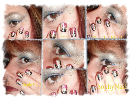 Maquillage du 1er l'an 2012