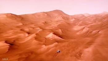 Un rover sur Mars