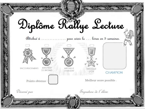 Rallyes lecture