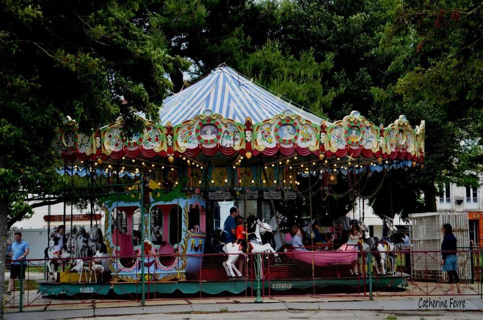 Le carrousel du square Valin s'en va !