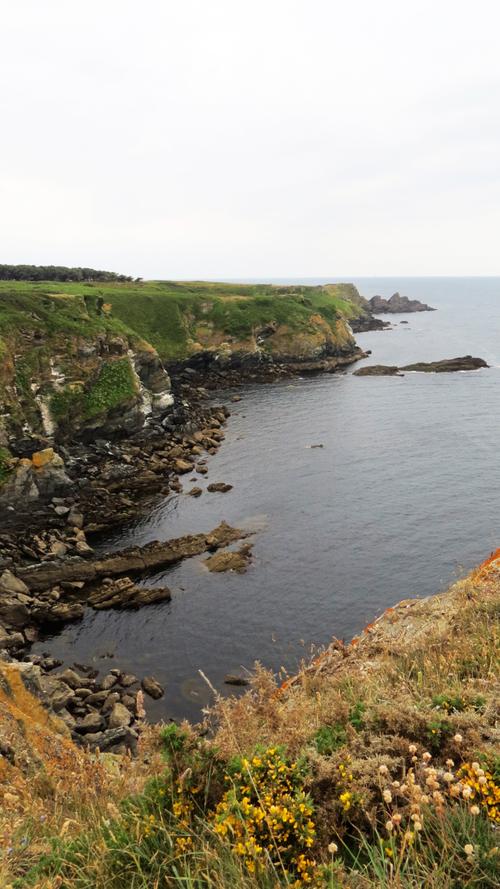 Escapade iodée à l'Île de Groix (Morbihan) - La  Pointe de Pen Men au Bourg