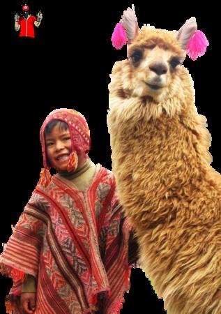 Tube L'enfant et le lama