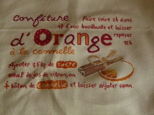 La confiture d'orange de LLP, 9eme obj