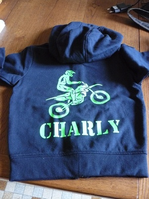 Sweat pour Charly