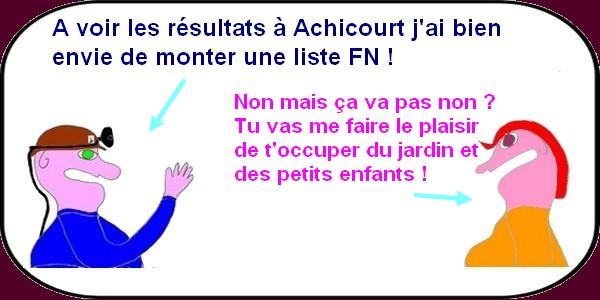 tiot se présente à Achicourt