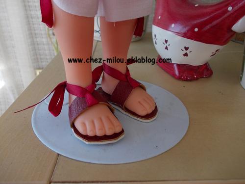 Des chaussures pour Karoll