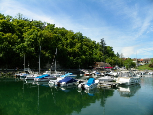 Le lac du Bourget à Châtillon