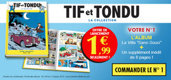 N° 1 Tif & Tondu - Lancement internet