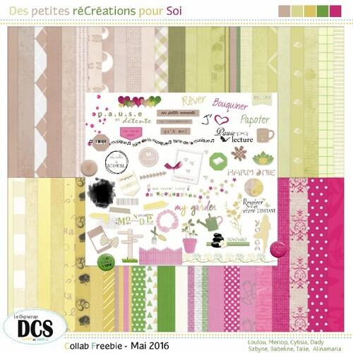 DCS: Des petites réCréations pour Soi