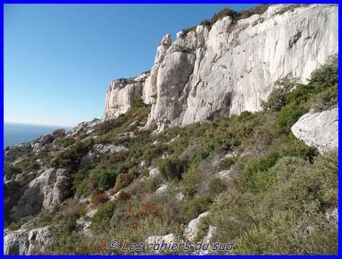 Calanques, la corniche sud de la Candelle
