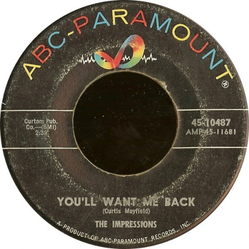 1963 : Single SP ABC Paramount Records 10487 [ US ]