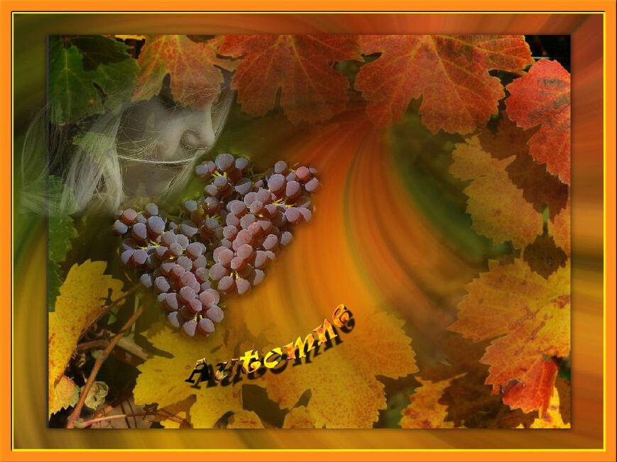 L'automne , poème