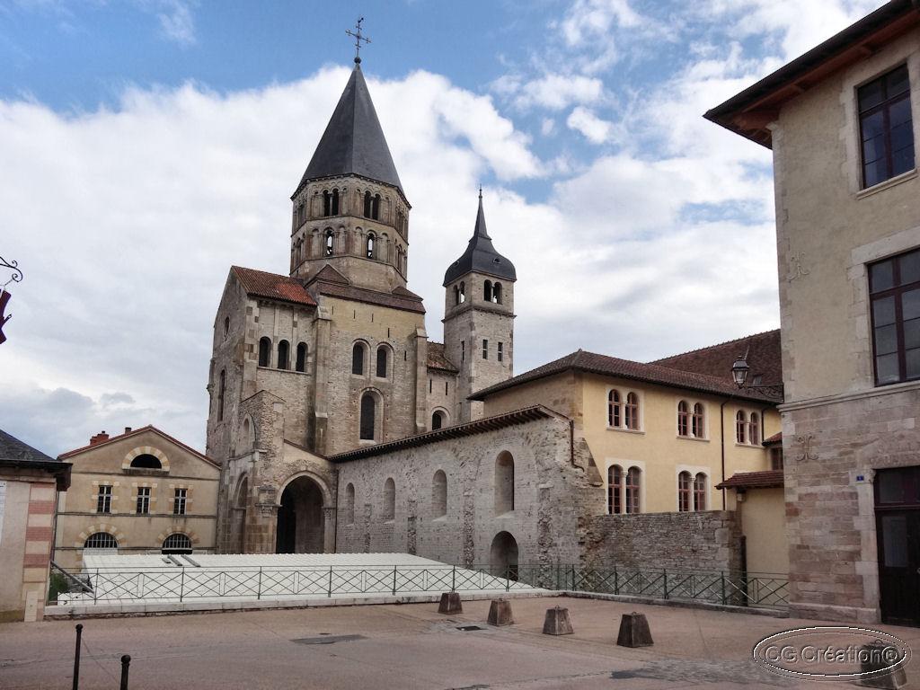 Le parcours touristique de Cluny
