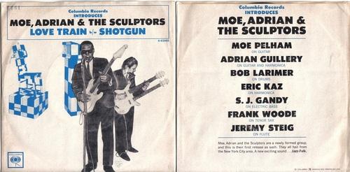 MOE , ADRIAN & THE SCULPTORS