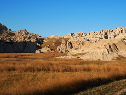 Le parc national des Badlands