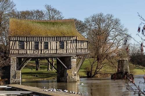 Le vieux moulin à Vernon (Eure)