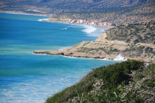 La baie de Taghazout