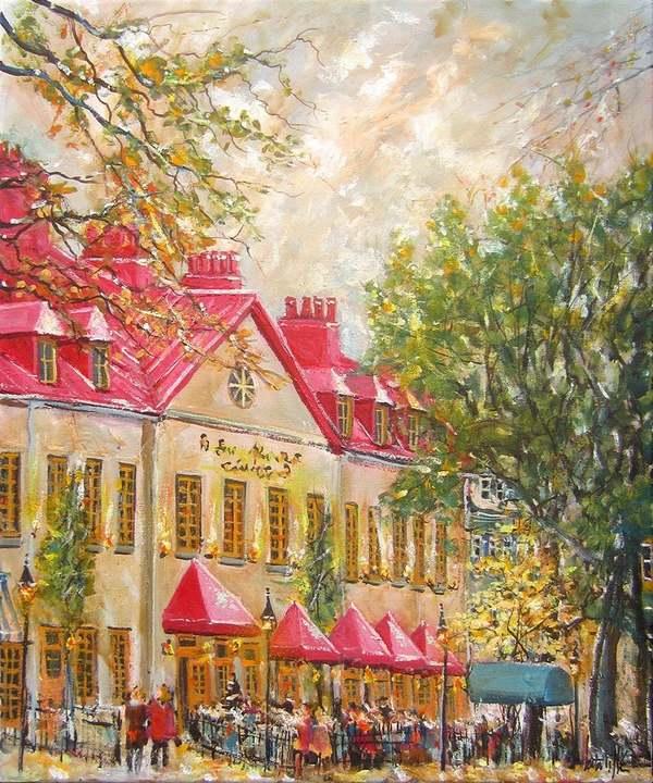 Peintures de : André LATULIPPE