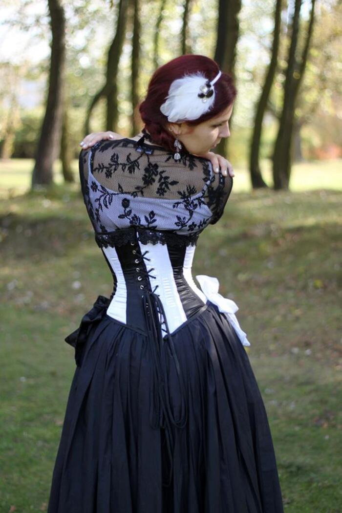 Boutique Woman in Corset