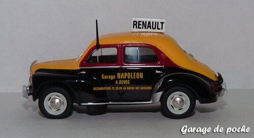 Renault 4cv Garage Napoleon
