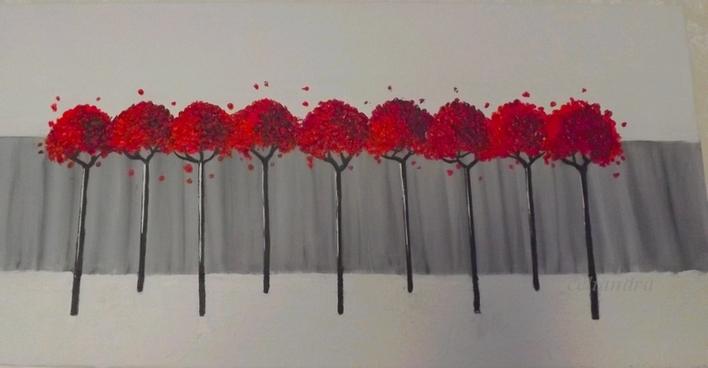 Peinture: en noir,blanc et .....