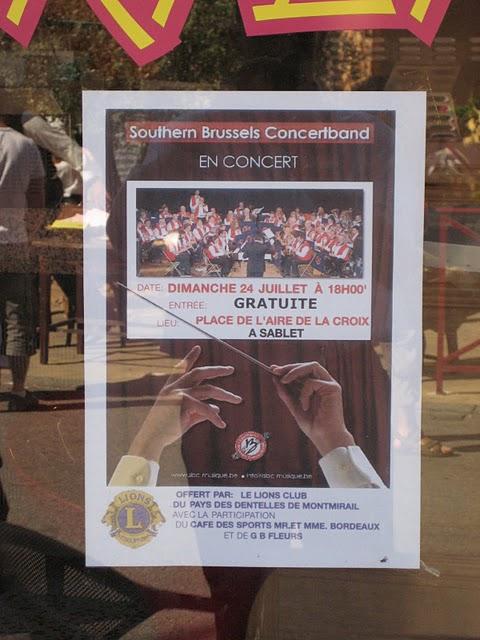 Le concert à Sablet