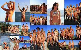 Purenudism - Neptune`s Day Nudists in Koktebel.  Foto & Video.