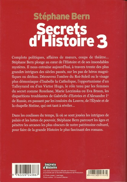 Secret d'Histoire (3)