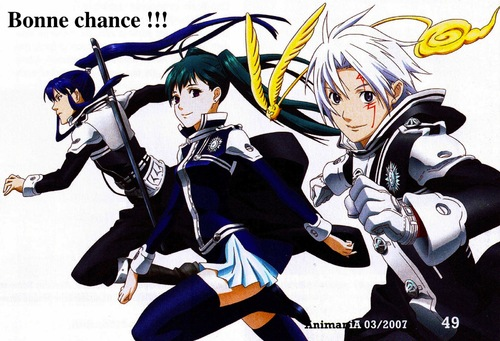 quiz n°4 es tu un vrai fan de D.Gray-man ?