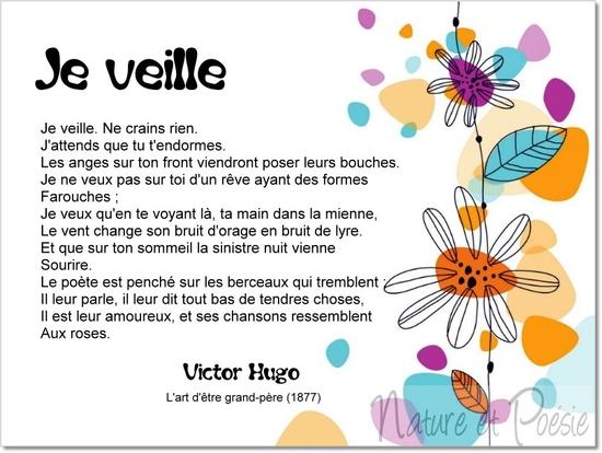 Poèmes De Victor Hugo Je Veille Le Monde De La Philo Et