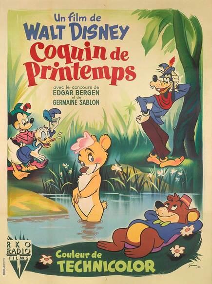 COQUIN DE PRINTEMPS -BOX OFFICE 1950