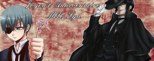 Joyeux Anniversaire Lya !