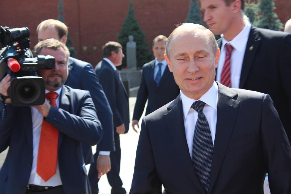 Poutine, Le Président De La, Appareil Photo, Russie