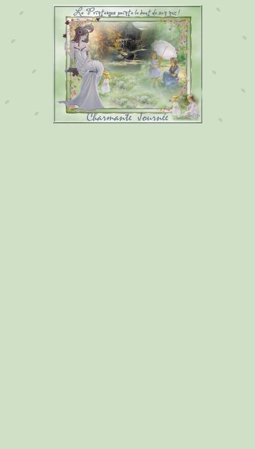 Papiers top Printemps IMail (suite)