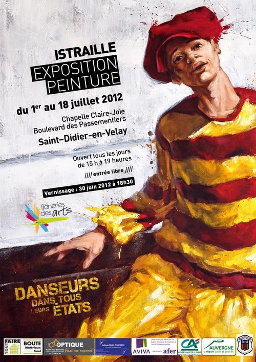 EXPOSITION d'ISTRAILLE du 1er au 18 JUILLET 2012