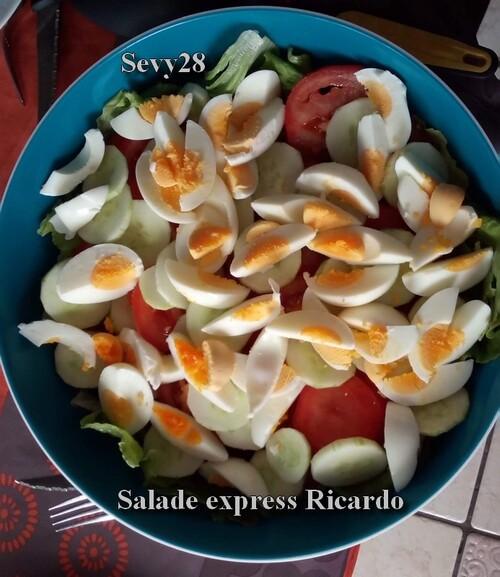 Salade express Ricardo