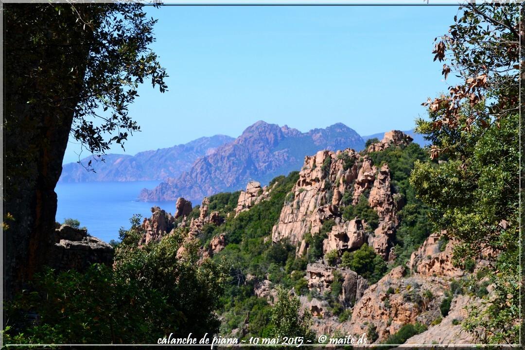 Calanche di Piana - Corse