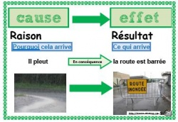 Relation de causalité, cause effet, lecture, compréhension, CE, CM