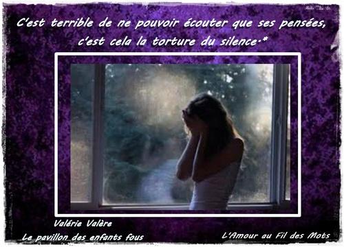 Valérie Valère, Le Pavillon des enfants fous