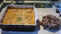 saumon curry lait de coco