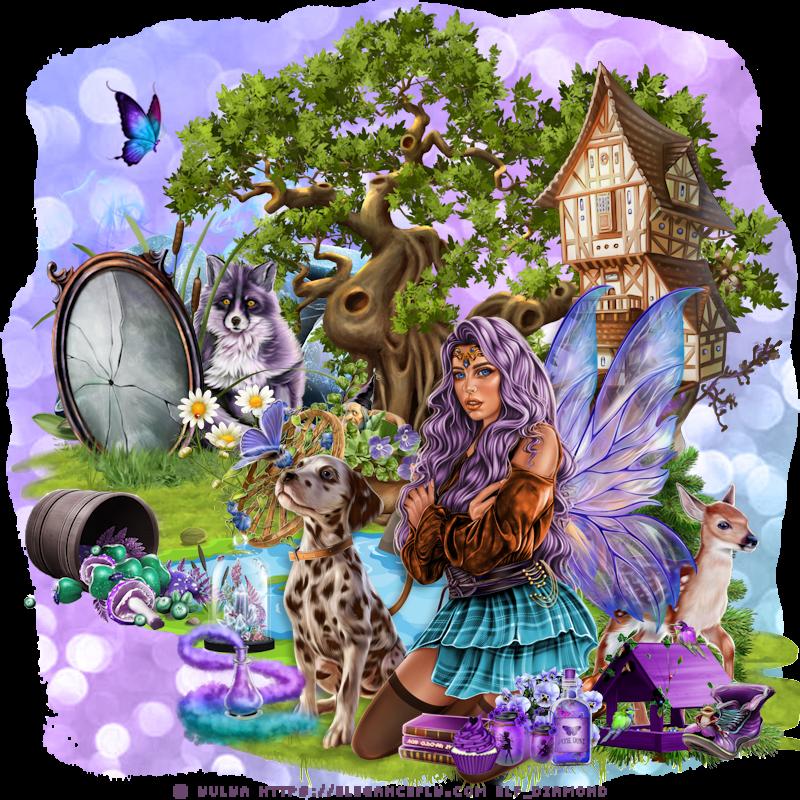 """Tutoriel """"Forest Fairy"""" de Nancy Butterfly"""