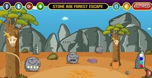 Jouer à Stone age forest escape