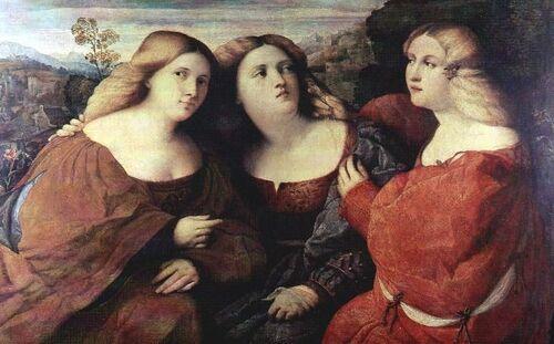 06 - Trois soeurs en peinture