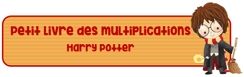 Livret Multiplications Harry Potter