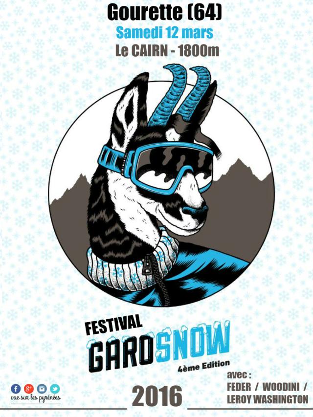 Festival Garosnow Gourette 2016