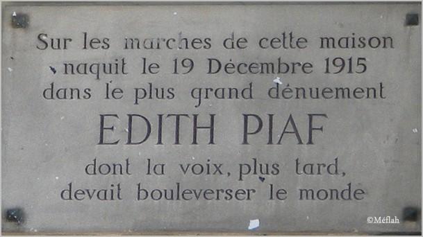 13 septembre 2011 Maison Edith Piaf 2