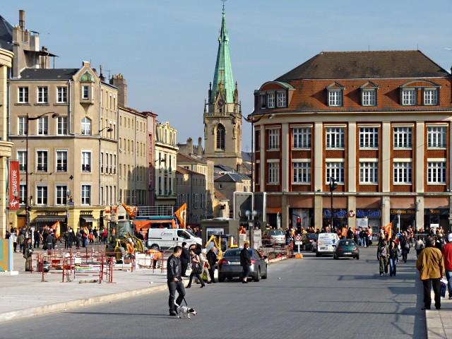 Ville de Metz 5 mars 2010